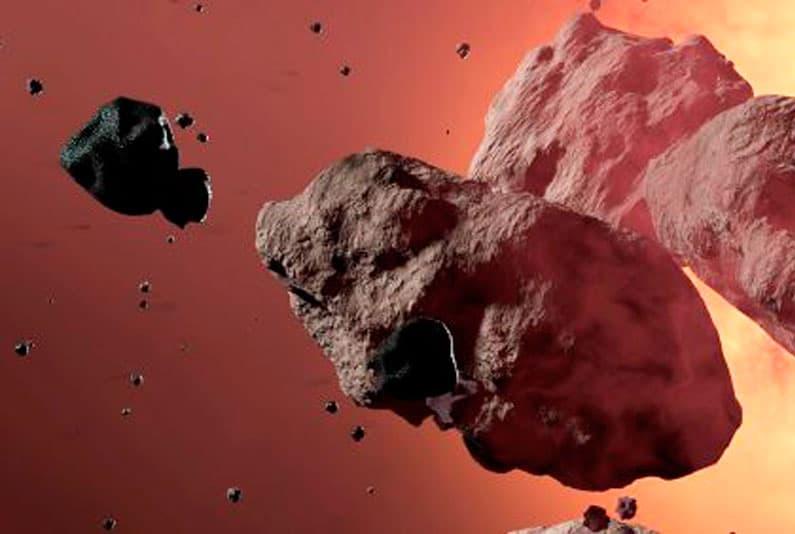 Spazio: sette asteroidi sfiorano la Terra