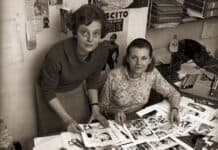 le sorelle Giussani, autrici di Diabolik
